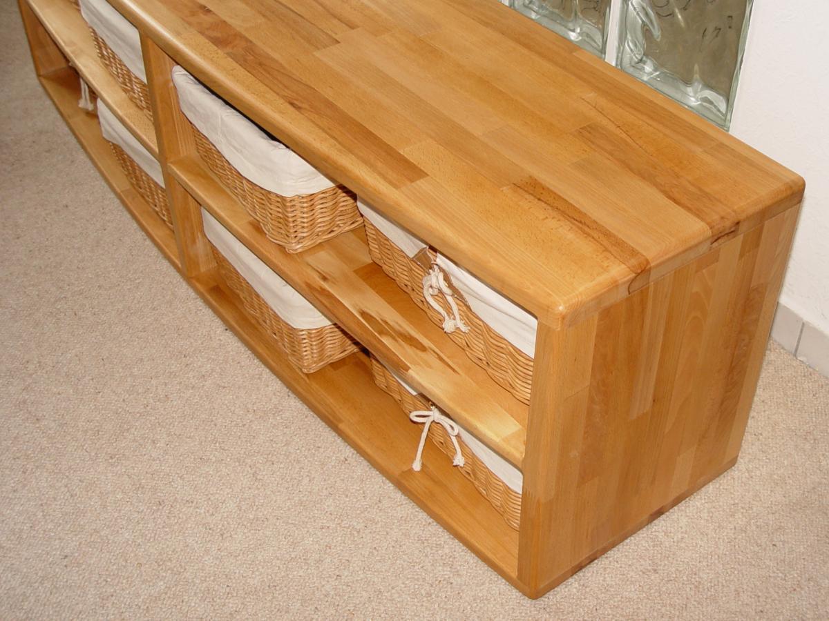 hifi rack oder schuhbank aus buchenholz. Black Bedroom Furniture Sets. Home Design Ideas